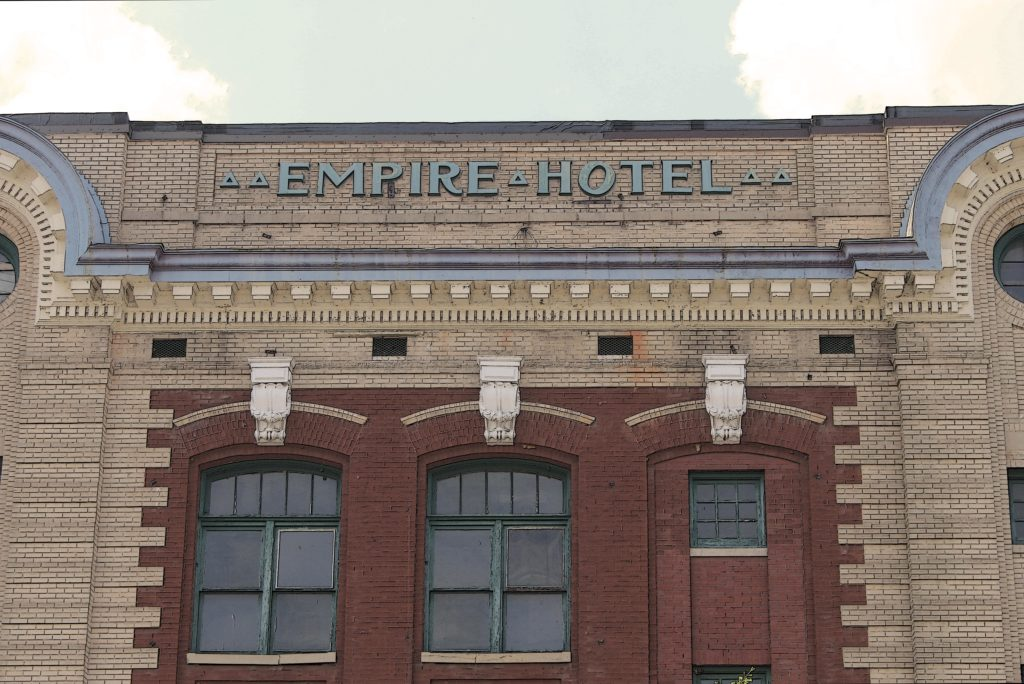 The Empire Hotel in Downtown Salisbury