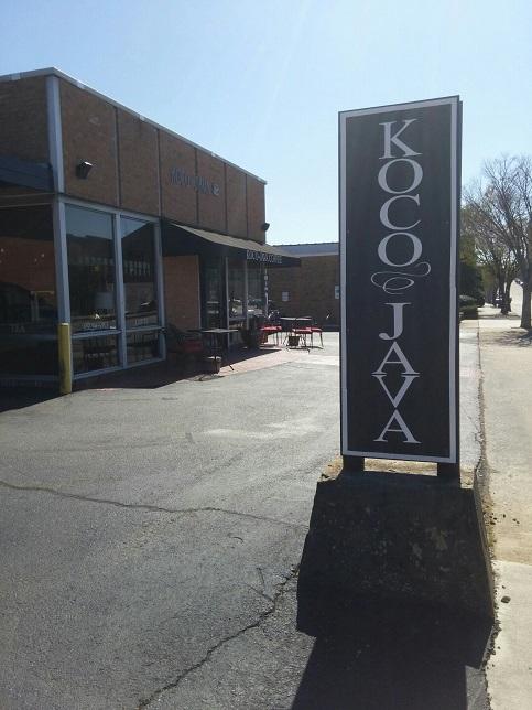 Koco Java street sign
