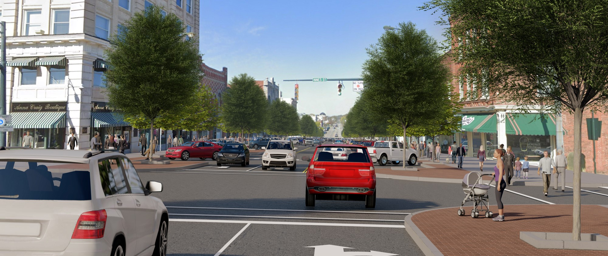 Mockup image of renovated downtown salisbury