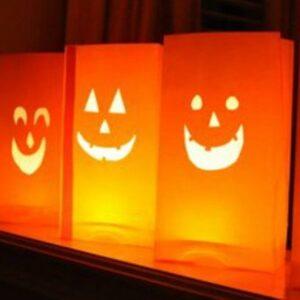 Jack-O-Lantern Luminaries